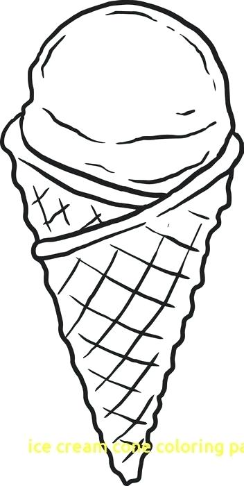 352x700 Ice Cream Coloring Pages To Print Free Plus Athletes Coloring