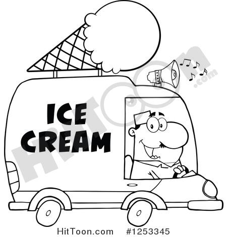 450x470 Ice Cream Truck Clipart
