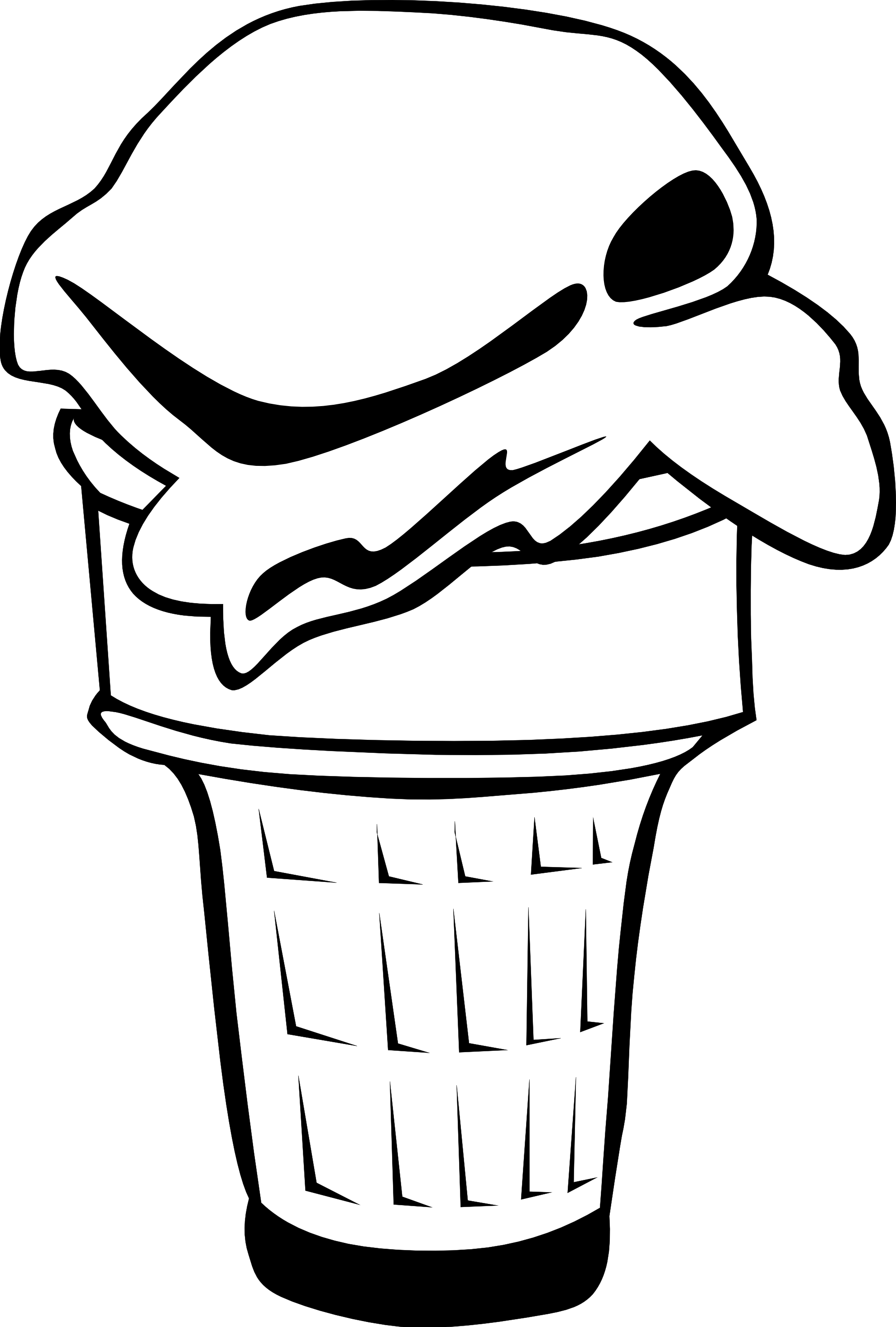 Line Art Ice Cream : Ice cream line drawing at getdrawings free for