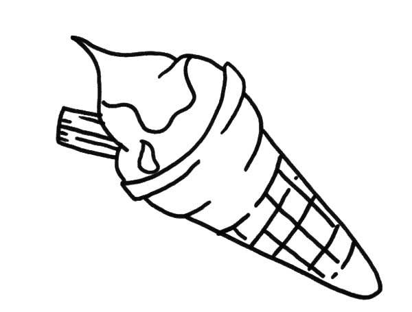 Ice Cream Scoop Drawing