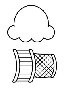 236x305 Scoop Ice Cream Coloring Page Cute Pages