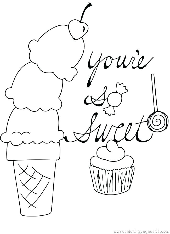 650x894 Ice Cream Bar Coloring Page And Cotton Candy Coloring Page 757