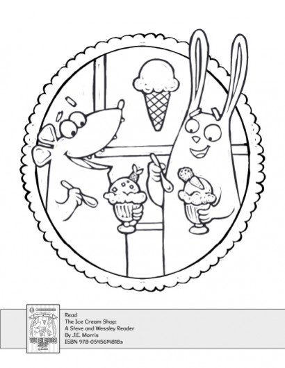410x530 The Ice Cream Shop Coloring Activity Parents