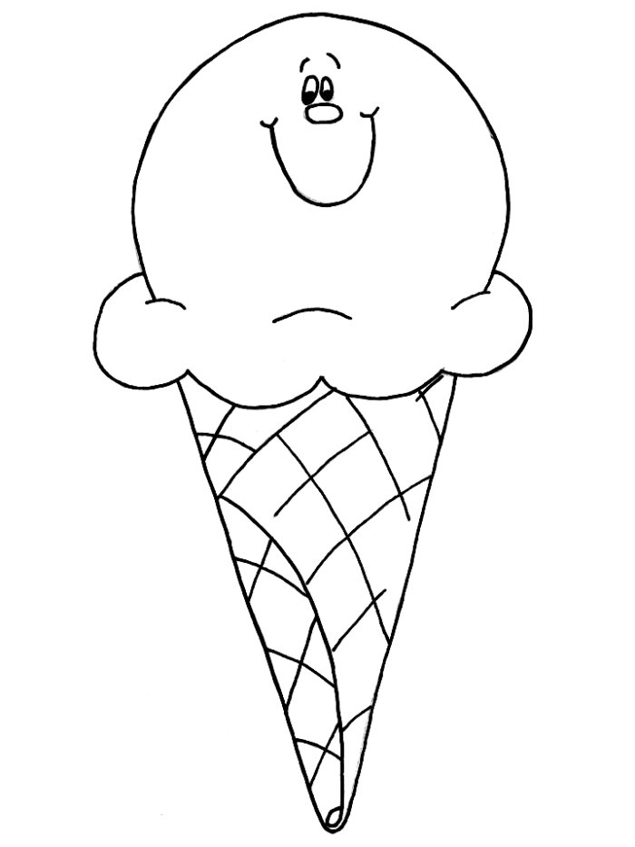 Ice Cream Sundae Multiplication Template