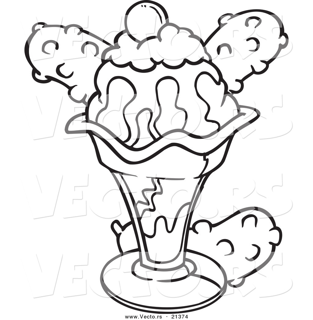 ice cream sundae drawing at getdrawings com free for personal use