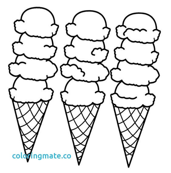 564x571 Ice Cream Coloring Page Awesome Printable Ice Cream Coloring Pages
