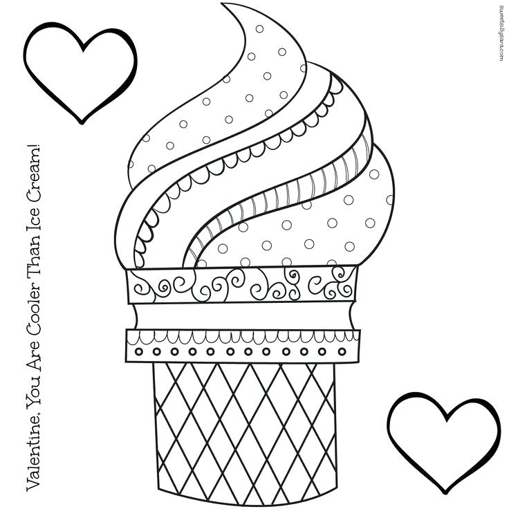 736x736 Ice Cream Coloring Pages Coloring Pages Ice Cream Cone Ice Cream