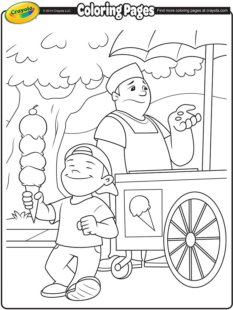 810x1080 Ice Cream Store Printable Coloring Pages. Ice. Best Free Coloring