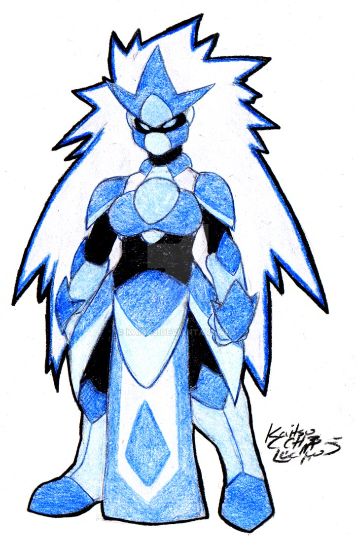 722x1107 Crystal Ice Elemental Armor Adopt By Kaixench3
