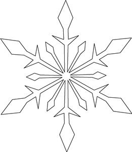 261x300 Drawn Crystals Ice Crystal