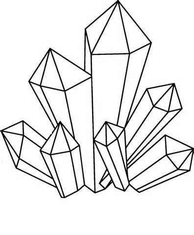 396x480 Crystals Drawing