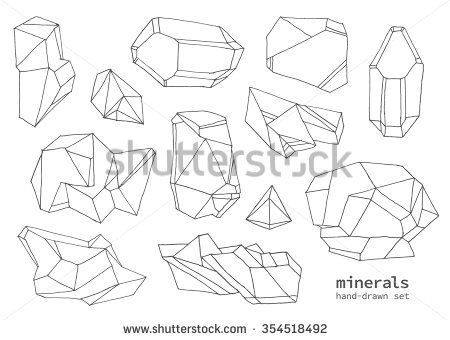 450x340 86 Best Draw And Paint Crystals Gems Jewels Images