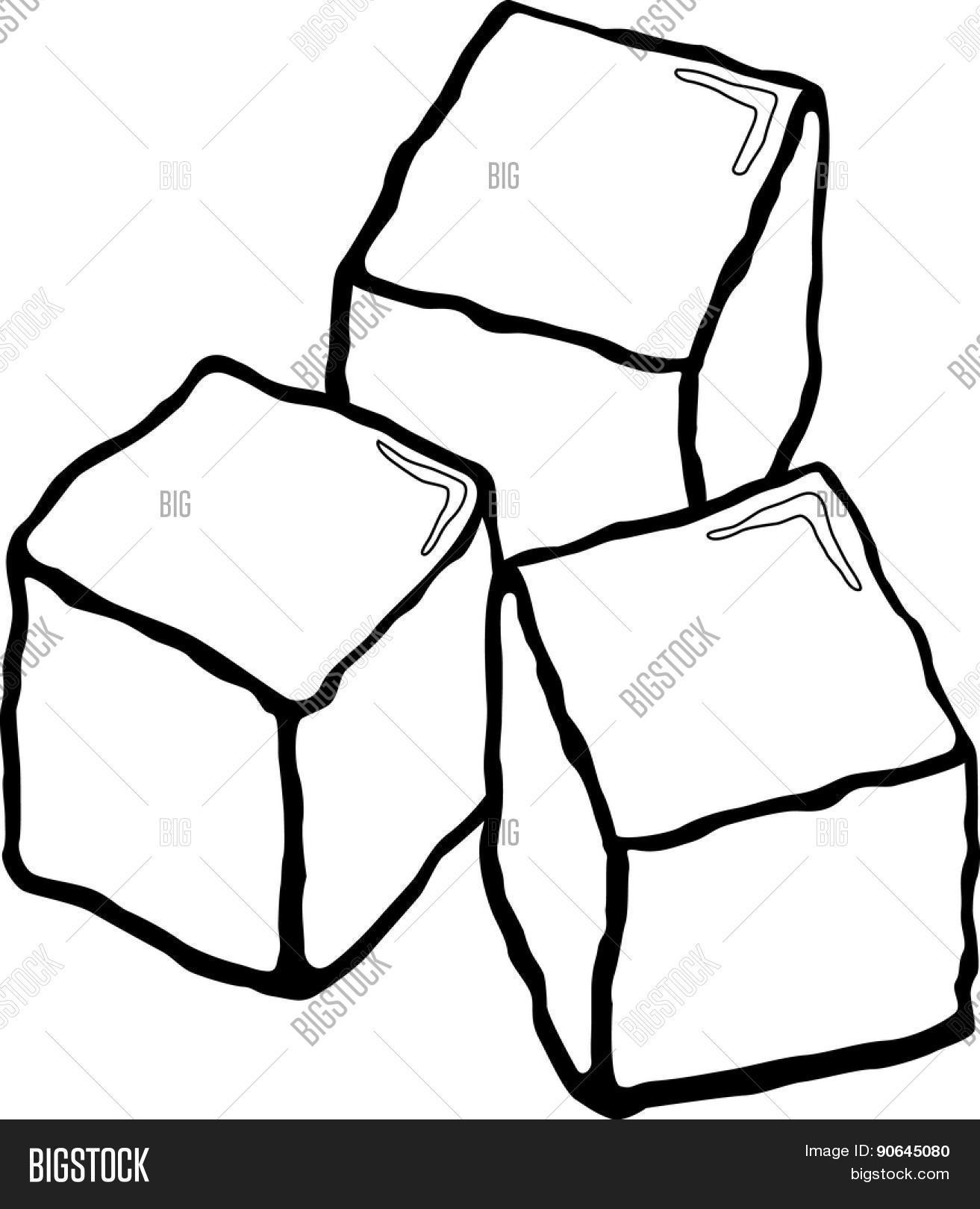 1313x1620 Cube Melting Cartoon