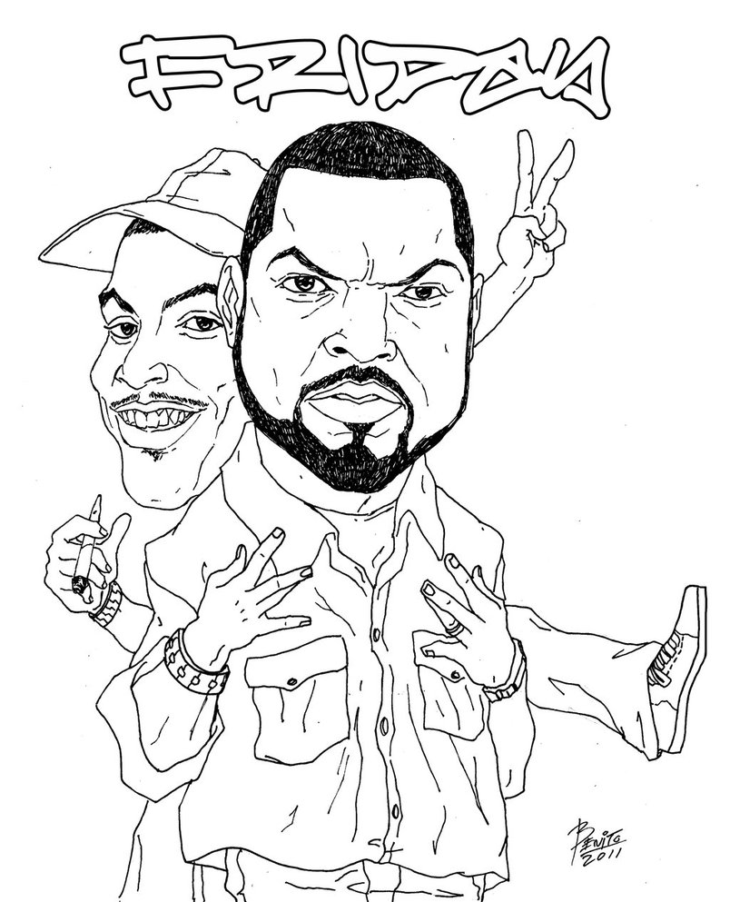 804x993 Friday Ice Cube And Chris Tucker By Benito4u