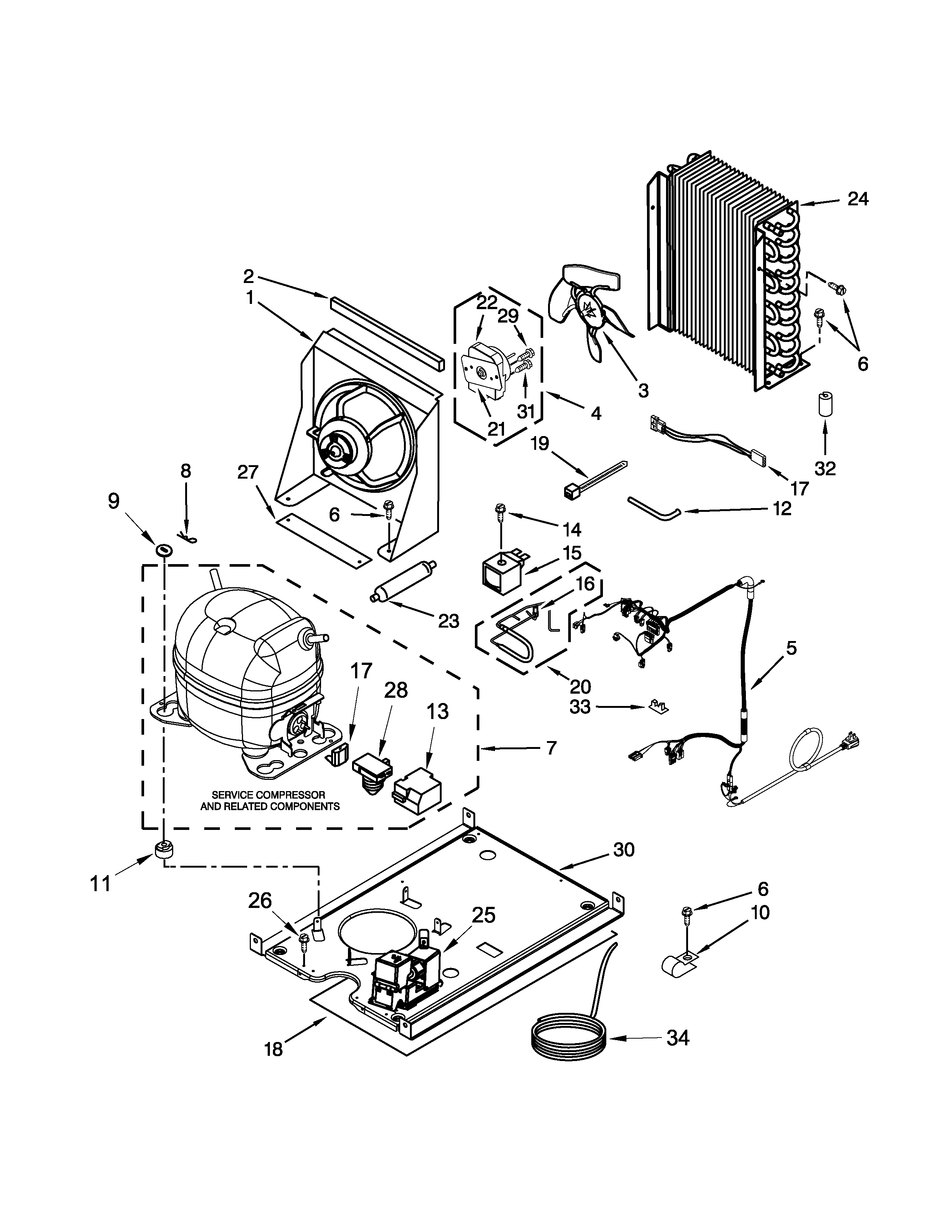 2550x3300 Maytag Ice Cube Maker Parts Model Mim1555zrs0 Sears Partsdirect