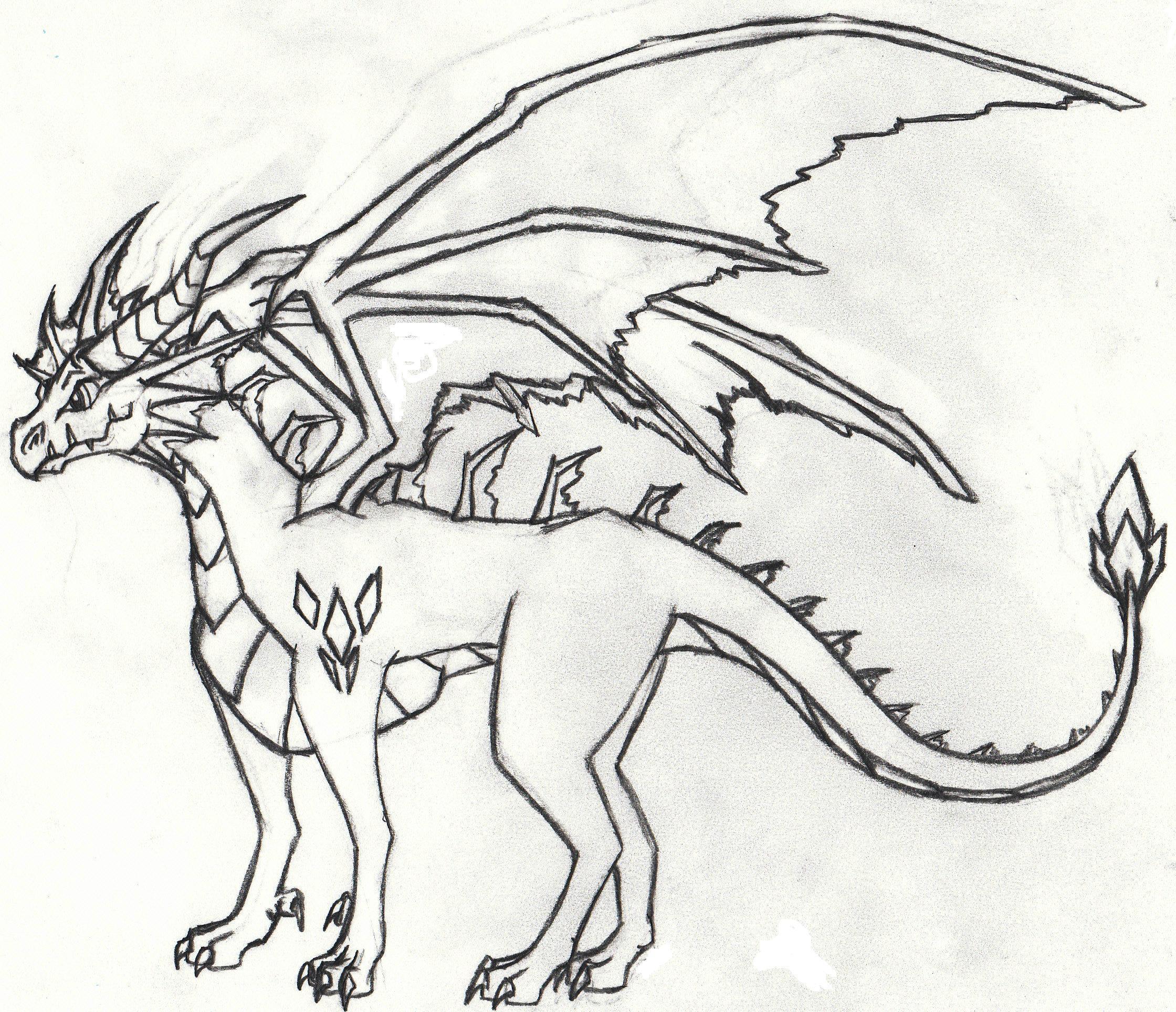 2240x1928 Dragon Drawing From Metallicadragon
