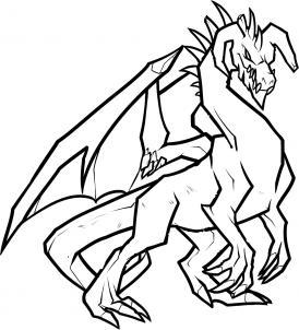 274x302 How To Draw An Ice Dragon, Ice Dragon, Step By Step, Dragons, Draw
