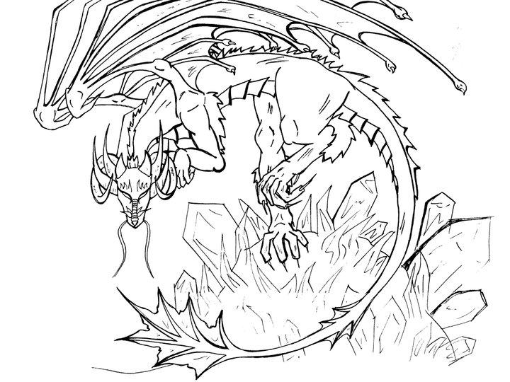 720x540 Ice Dragon By Nekotaa
