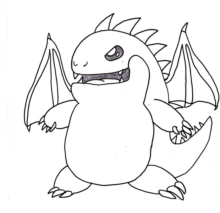 900x869 Mega Ice Dragon By Deitz94