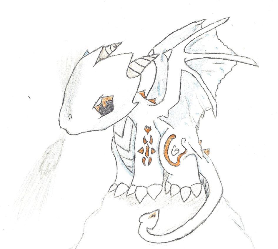 945x846 Chibi Ice Dragon By Tobywilliams