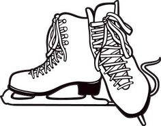 236x184 Ice Skating Templates