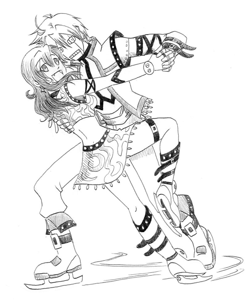 800x996 Figure Skating By Jutawi