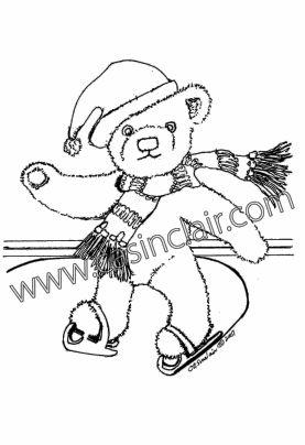 277x404 Ice Skating Teddy Bear Boy Teddy Bear Art Bears That You Love