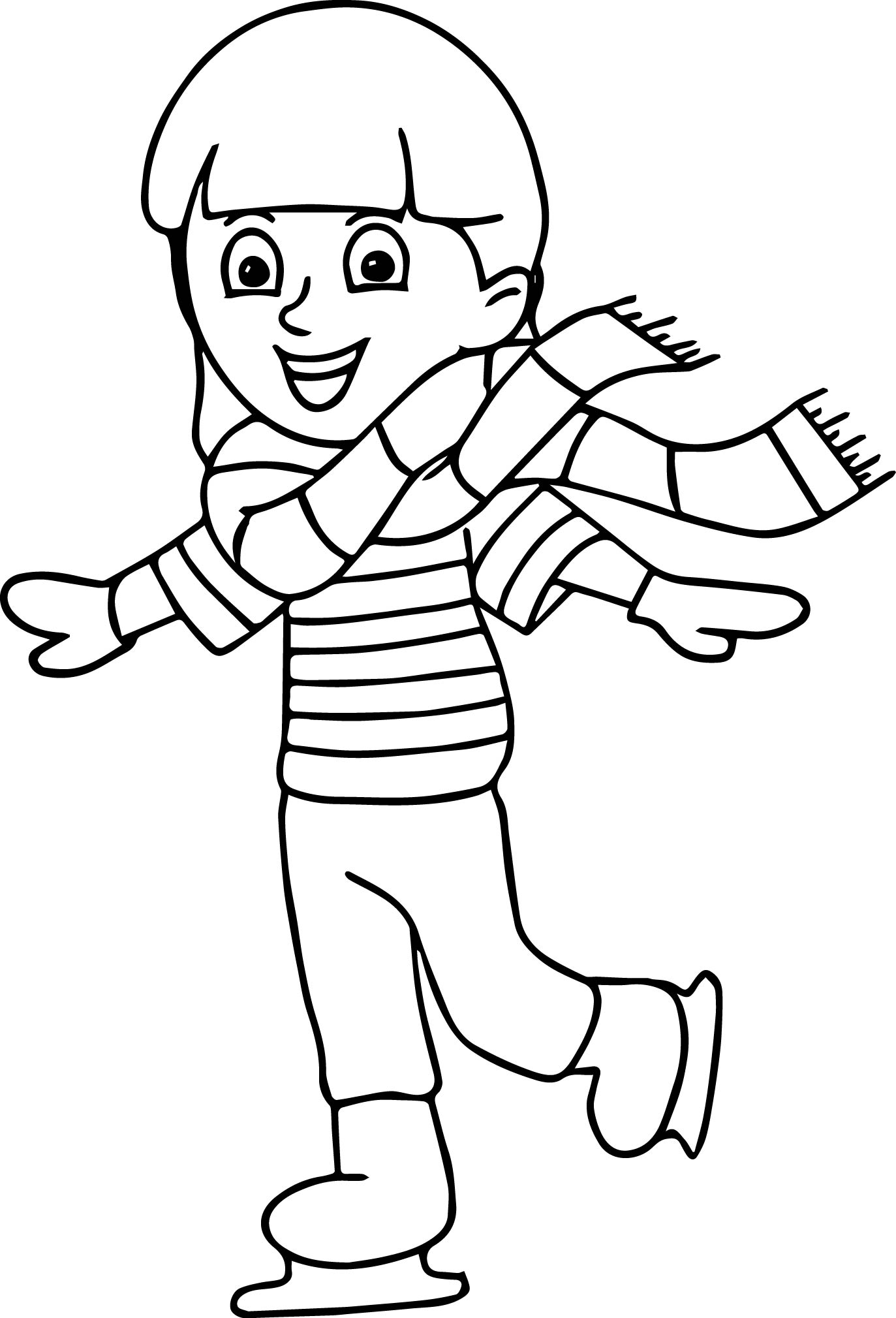 1373x2019 Winter Sport Ice Skating Coloring Page Wecoloringpage
