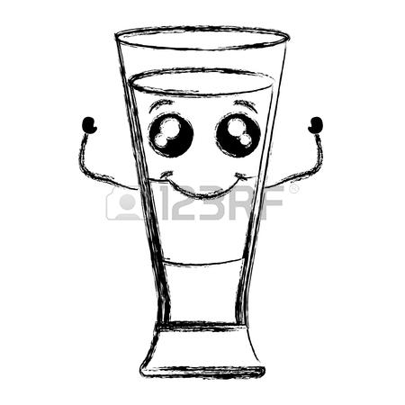 Iced Coffee Drawing
