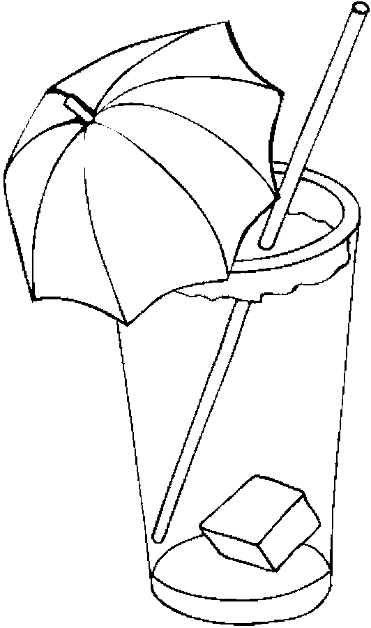 532x900 Iced Tea Drawing Iced Tea 4 Coloring Page Happy Ice Tea Day