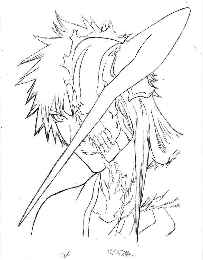 790x1011 Drawings Of Ichigo From Bleach Tagged Manga Bleach And Fan Ar