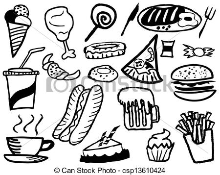 450x357 Snack Clipart Drawing