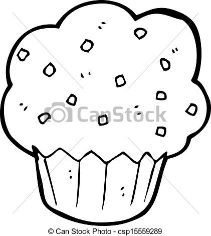 421x470 Cartoon Muffin Vector