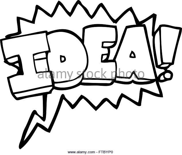 633x540 Freehand Drawn Bubble Cartoon Idea Stock Photos Amp Freehand Drawn