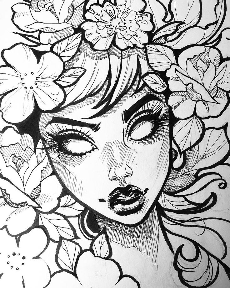 736x919 Photos Pretty Black And White Drawings,