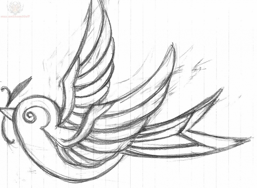 1024x751 Pictures Easy Art Drawing Ideas,