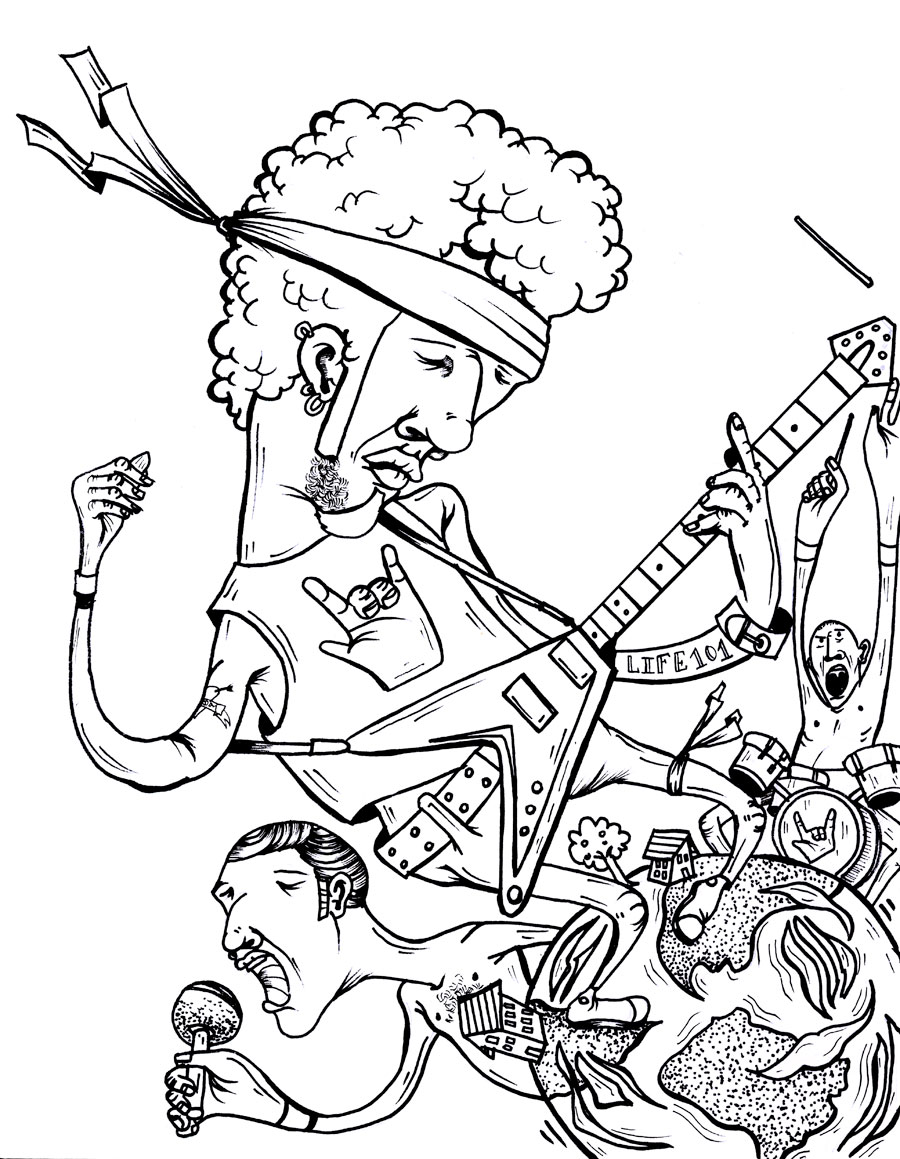900x1159 Rock Coloring Pages