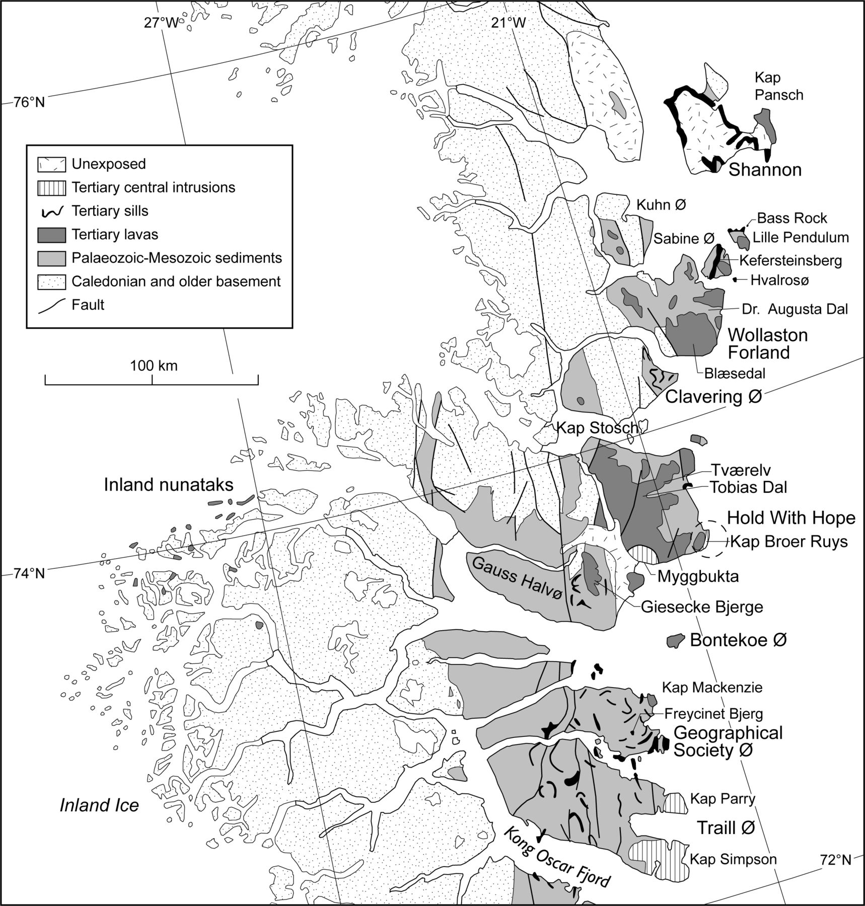 1718x1800 Eocene To Miocene Igneous Activity In Ne Greenland Northward