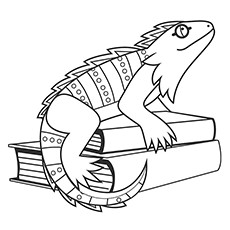 230x230 Top 10 Iguana Coloring Pages For Your Little One