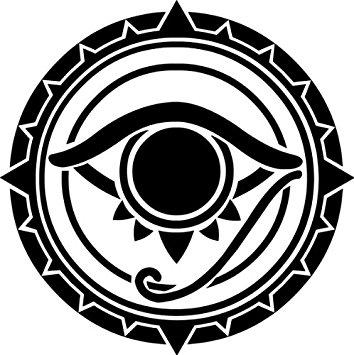 354x355 Masonic Exchange Freemason All Seeing Eye Decal Auto