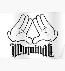 210x230 Illuminati Drawing Posters Redbubble