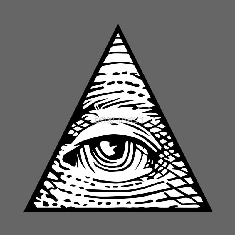 800x800 Illuminati Eye Of Providence Mini Skirts By Boxsmash Redbubble
