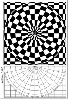 236x342 Op Art And Colored Pencil Tutorial