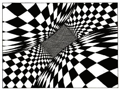 417x316 Optical Illusion Geometric Illusions, Op Art