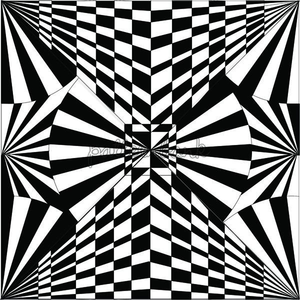 600x600 Optical Illusion Art