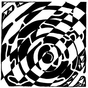 300x300 Optical Illusion Art Drawings