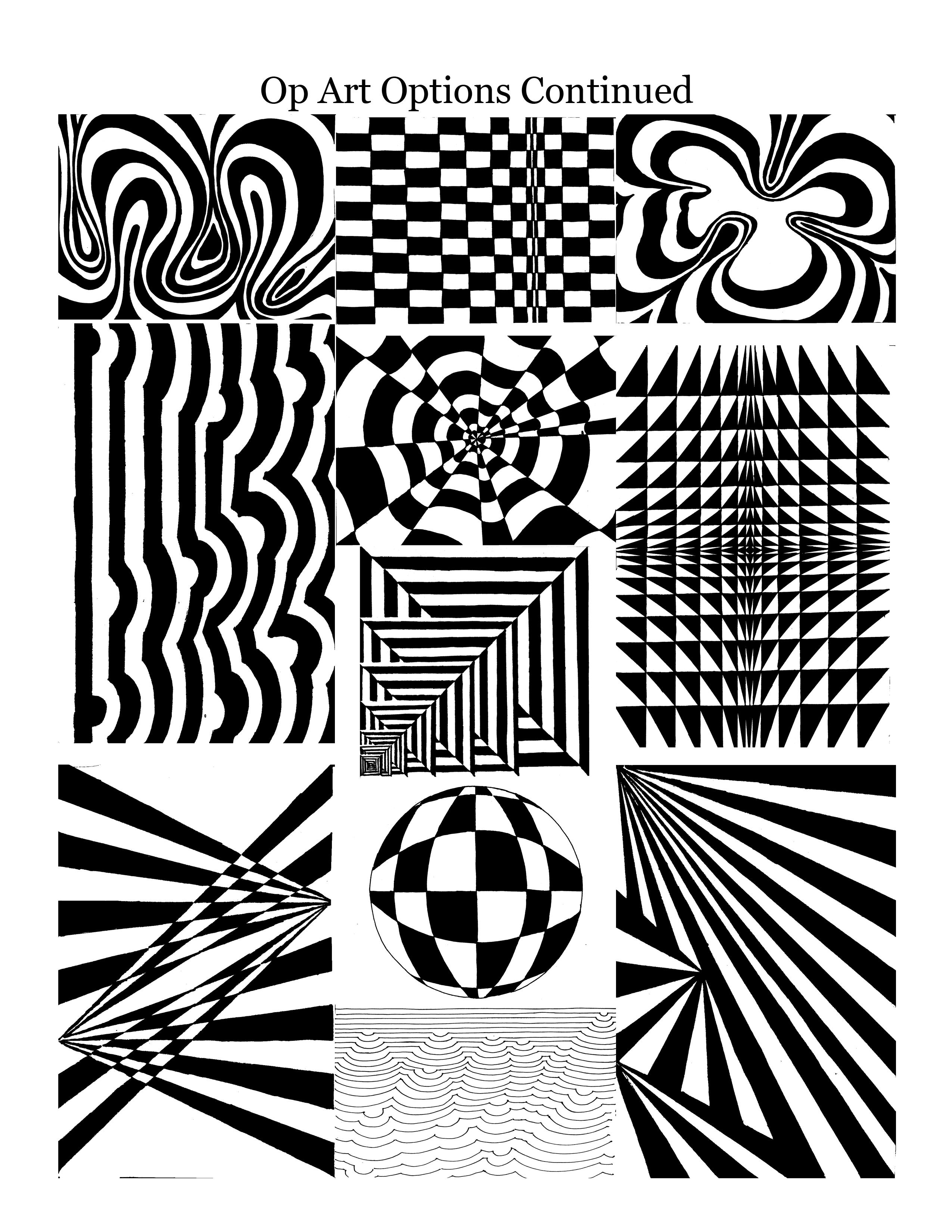 2550x3300 Optical Illusions Art! Art 8