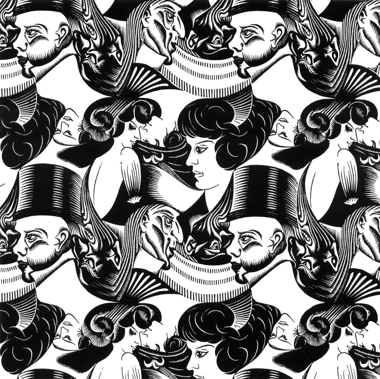 1280x1278 Escher Tekeningen