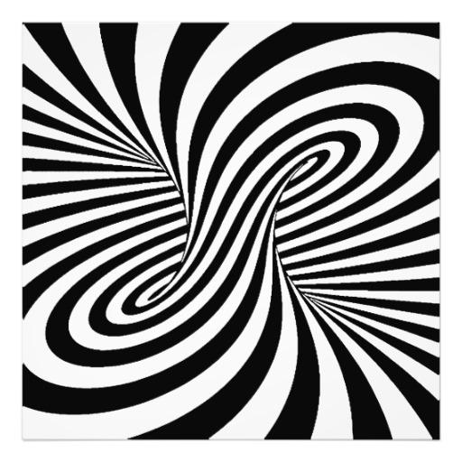 512x512 Illusion Art Black White Zebra Swirls Patterns Optical Illusion