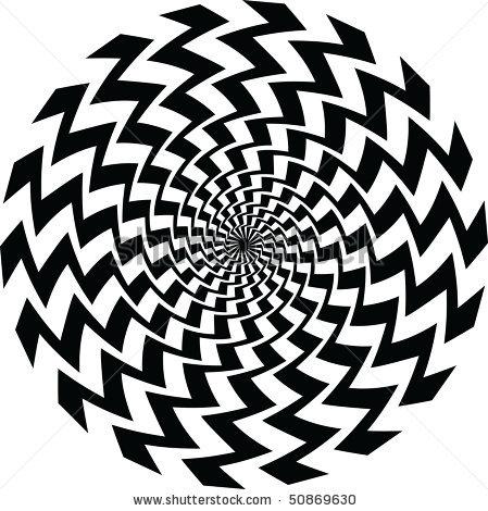 449x470 Illusion Art Black And White